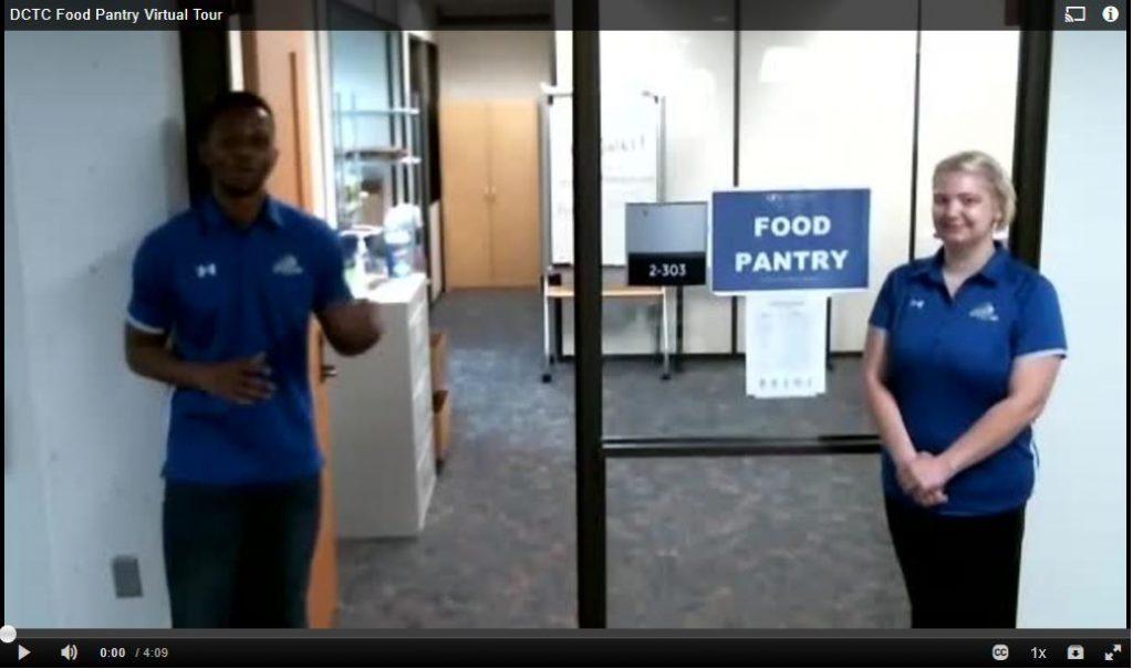 DCTC Food Pantry Virtual Tour