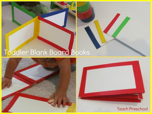 Diy Toddler Board Books Early Childhood And Youth
