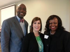 Brocklin Qualls, Dawn Braa, Dr. Valora Washington (CEO)