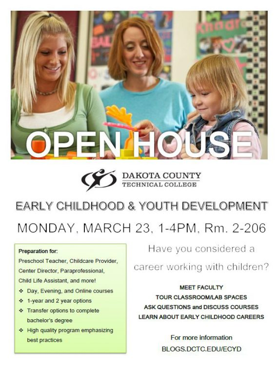 EARLY CHILDHOOD OPEN HOUSE