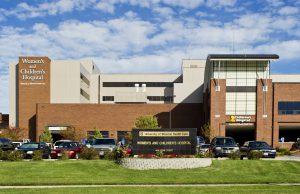 University of Missouri Women's and Children's Hospital exterior photos