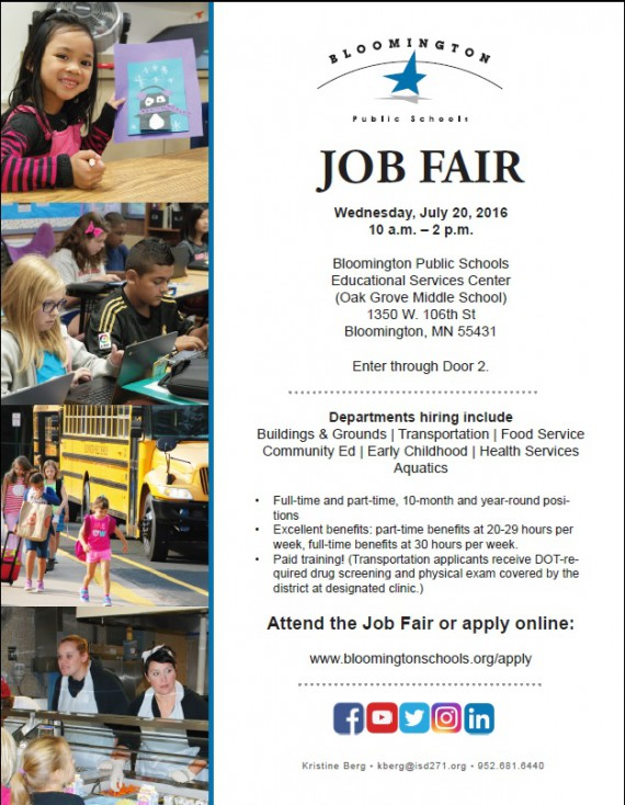 bloomington job fair