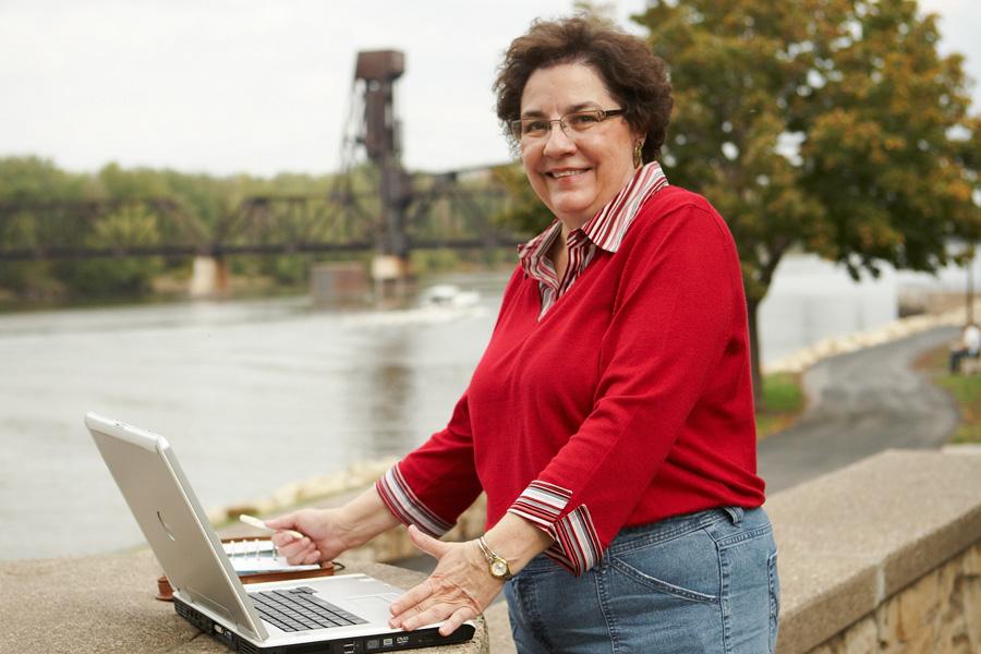 Nontraditional Grad Rebuffs Retirement