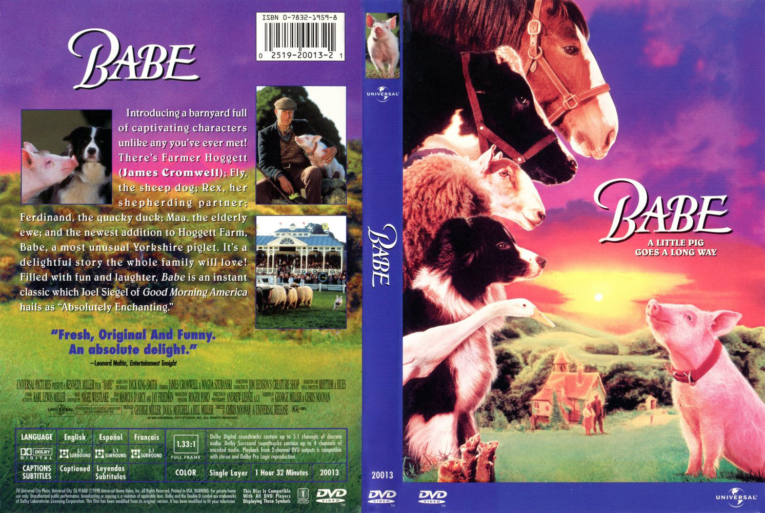 See BABE at Septemberfest Outdoor Movie 7 p.m. to 9 p.m.
