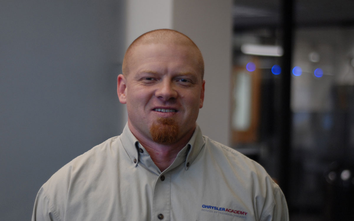 Chad Sheets, Chrysler Academy Instructor