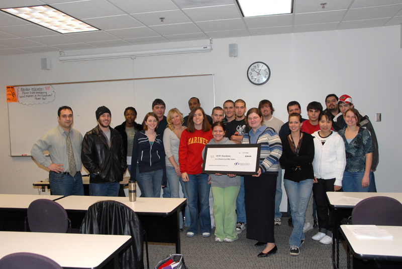Interpersonal Communication Students Help Fund the Foundation