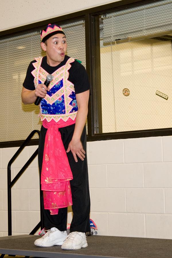 Hmong comedian Tou Ger Xiong