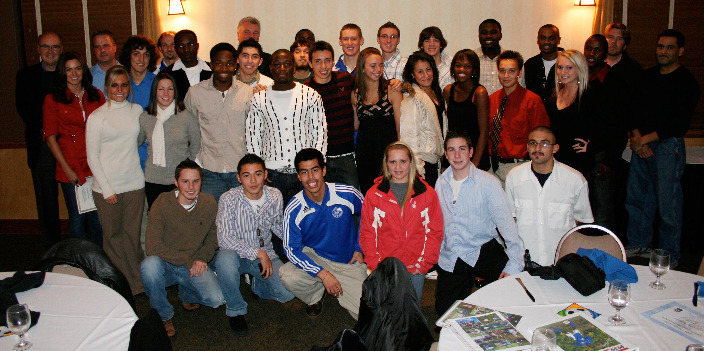 Blue Knights Soccer Players Shine at Awards Banquet