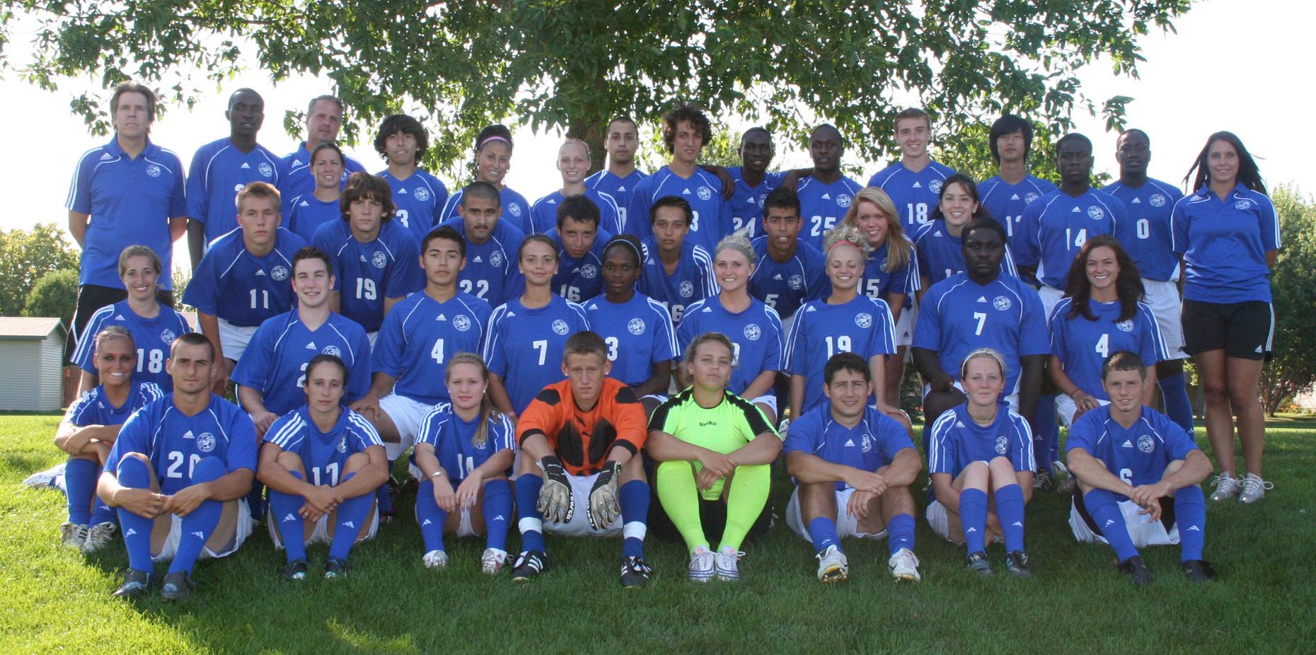 Four Blue Knights Make ICCAC First Team All-Region