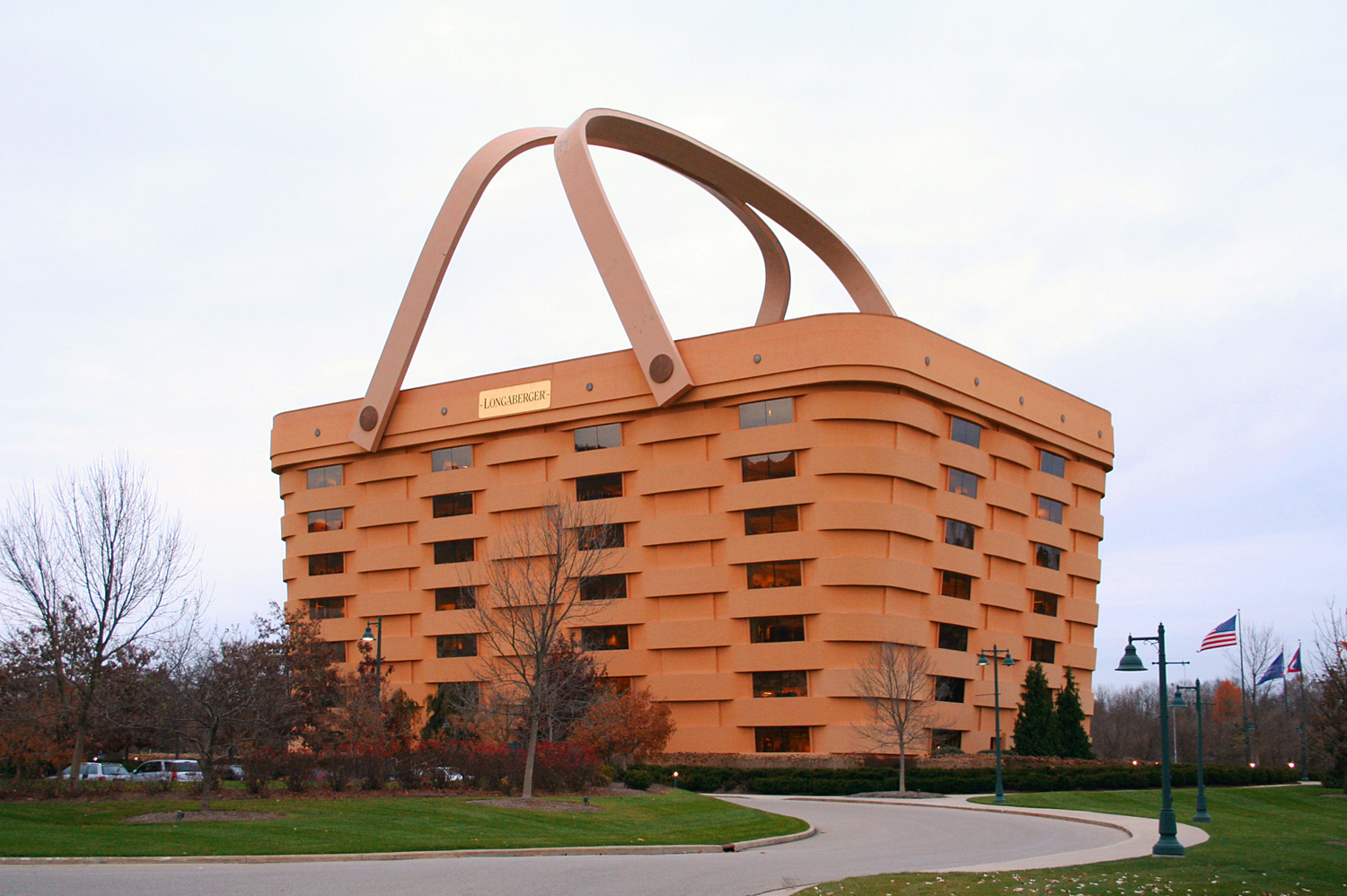 Picnic basket business : This house is a basket skyscrapercity