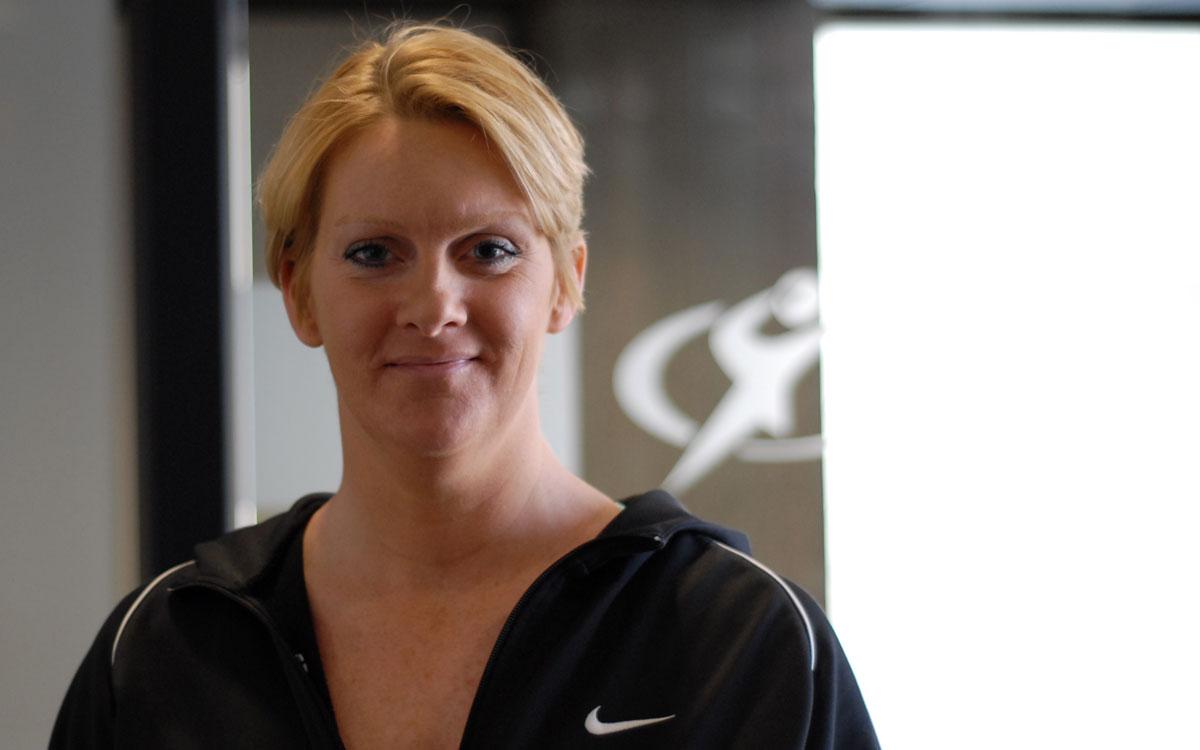 Sara Woodward Pedaling for World Record