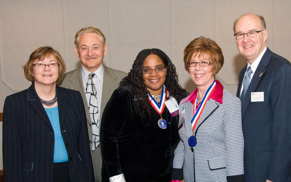 Linda Baer, James Van Houten, Patricia Dunlap, Susan Prom, Ronald E. Thomas