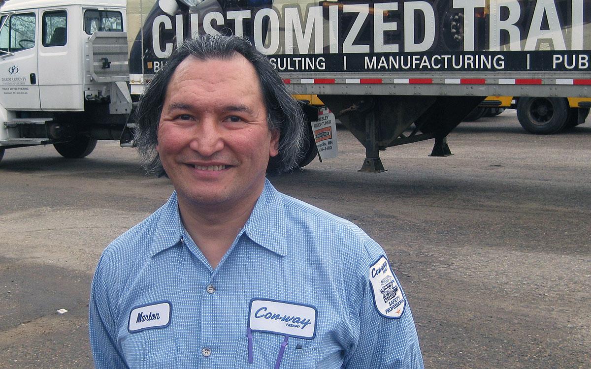 Marlon Marum | Driver Sales Representative | Con-Way Freight-Central