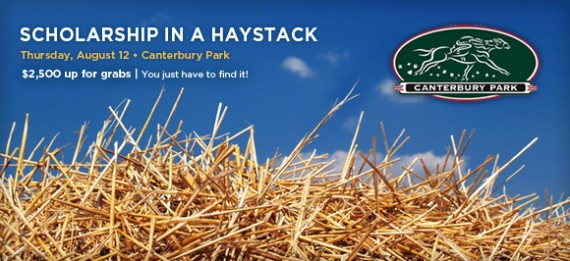 DCTC Scholarship in a Haystack at Canterbury Park