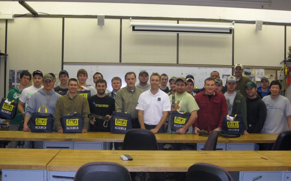 Capital Safety Donates Equipment to Electrical Lineworker Program