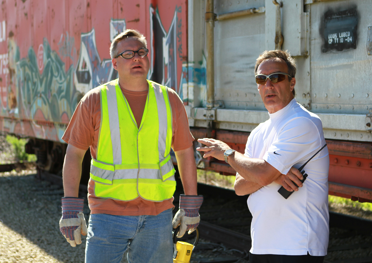 Instructor Don Spano (right) with RRCT student