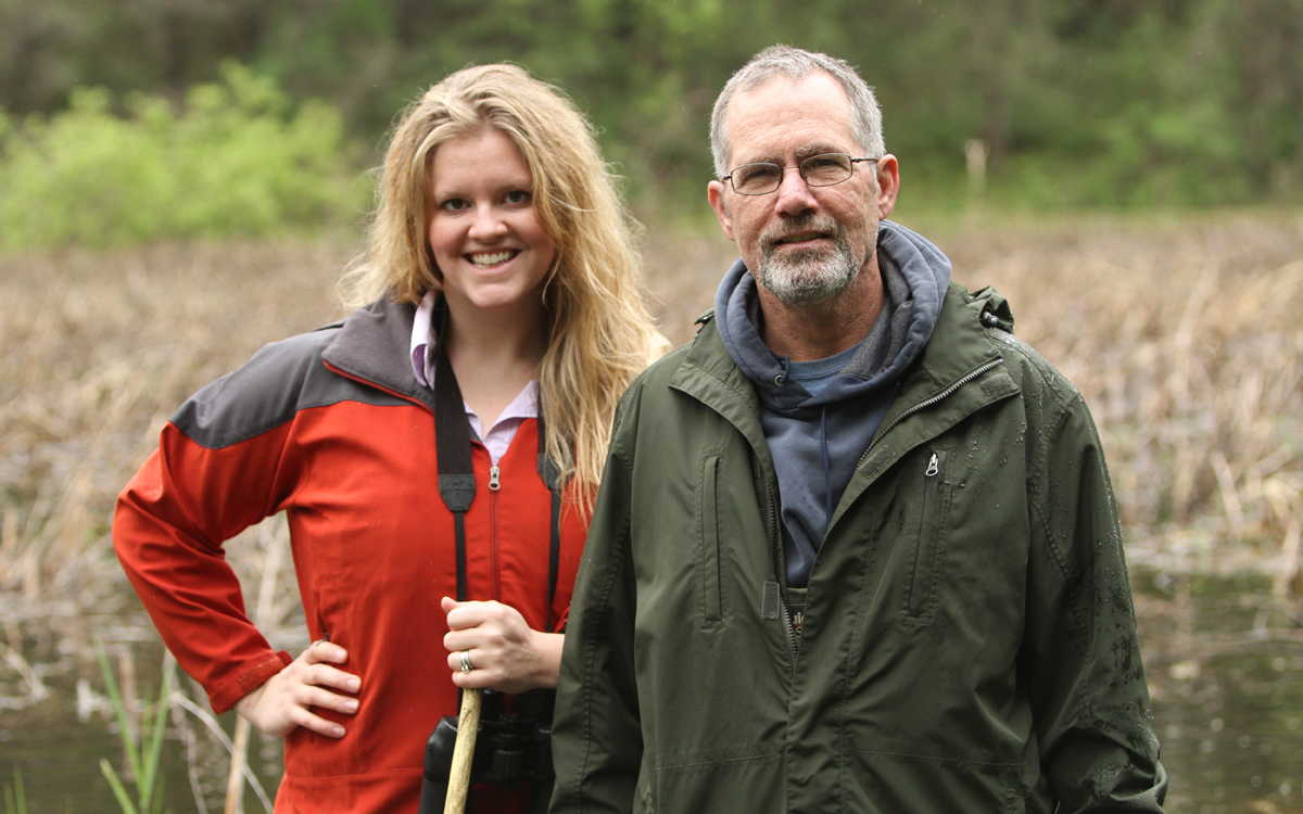 Erin Edlund and Chris Hayes | Wetland Warriors