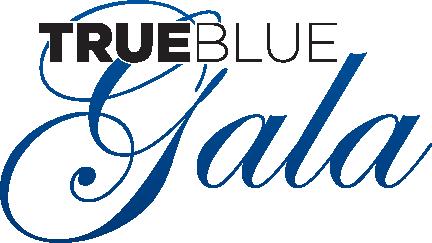 True Blue Gala logo