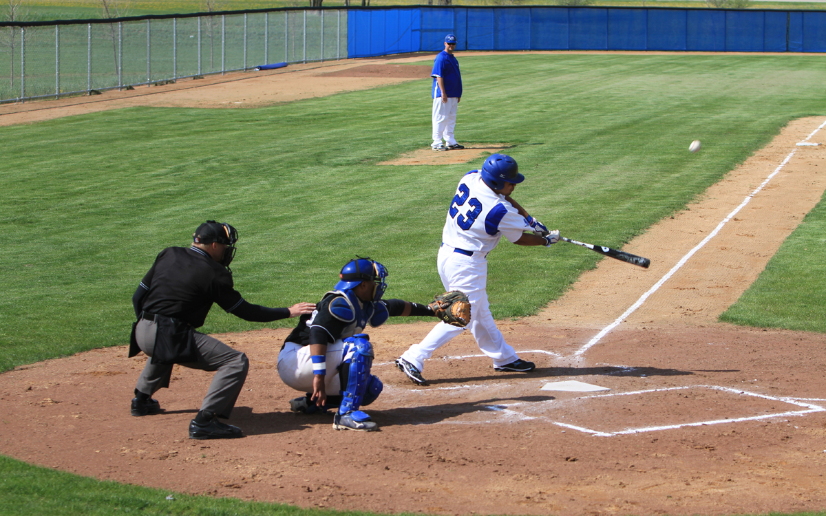 Blue Knights baseball photo