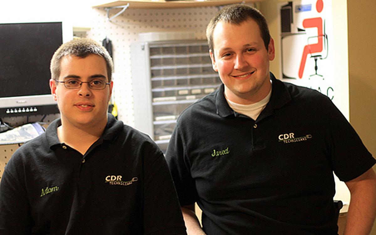 CDR Technicians offer computer repair at your doorstep
