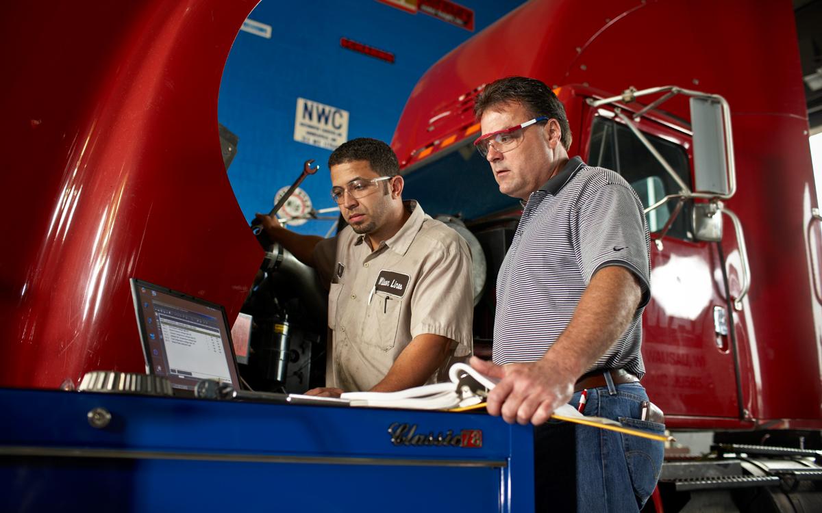 Heavy duty truck technology program