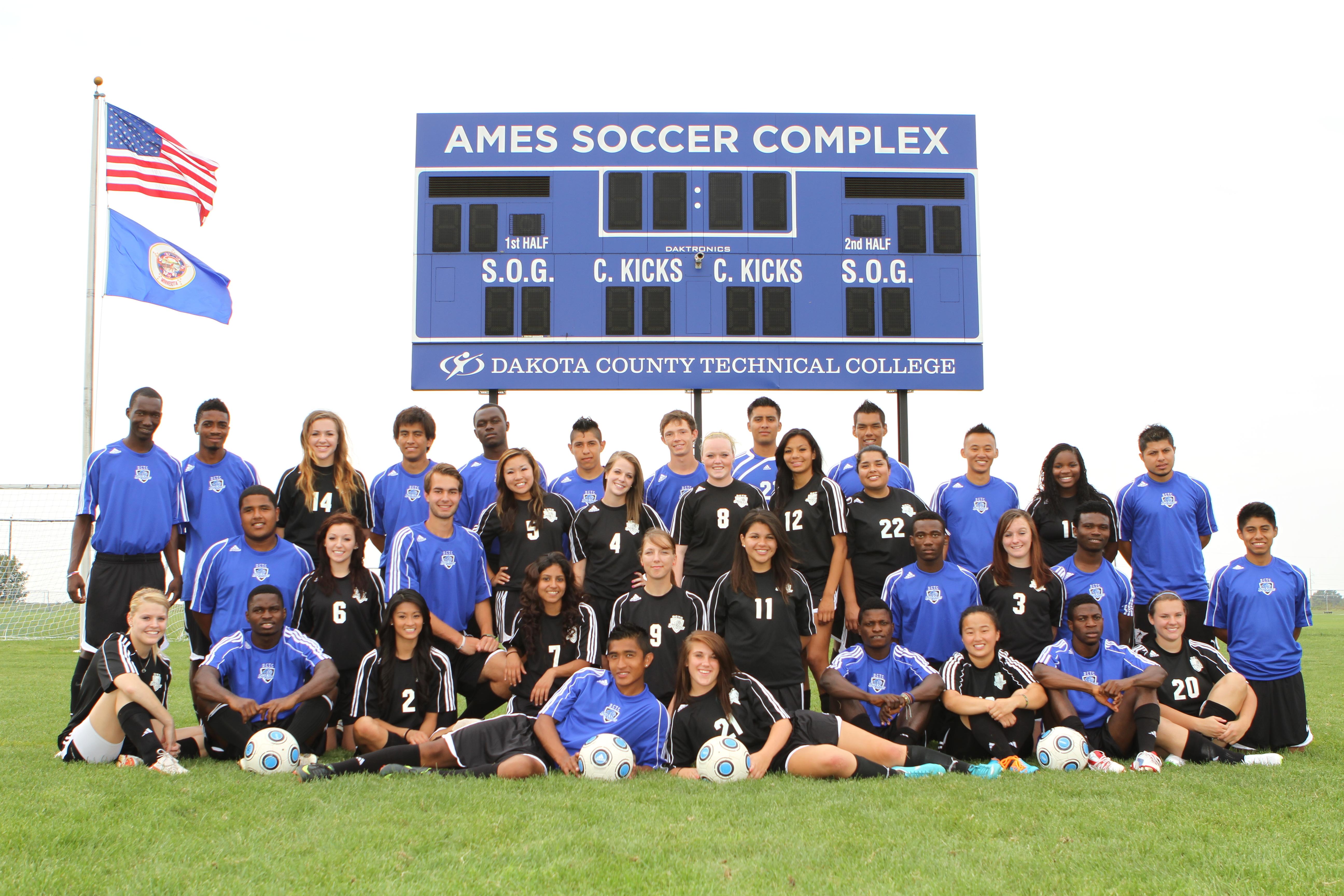 2012 Men's & Women's Soccer Team
