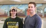 Former DCTC-USGBC Student Group Vice President Karen Malkowski & President Mark Nicholson