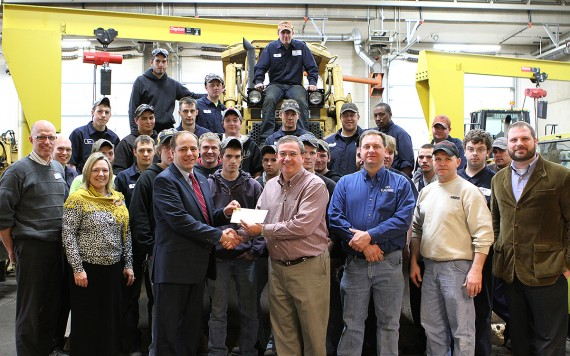 Ziegler Cat and DCTC Foundation Grant Ceremony in HCET program area | Tuesday, Jan. 8, 2013