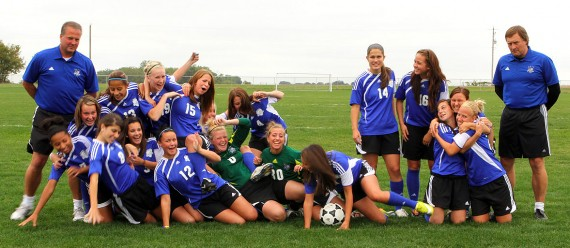2010–2011 Blue Knights: NJCAA Region 11 Runners-Up