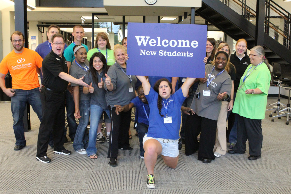 DCTC's 2013 New Student Orientation Team