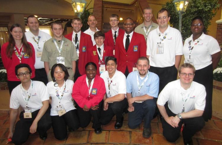 DCTC's SkillsUSA National Competitors 2013