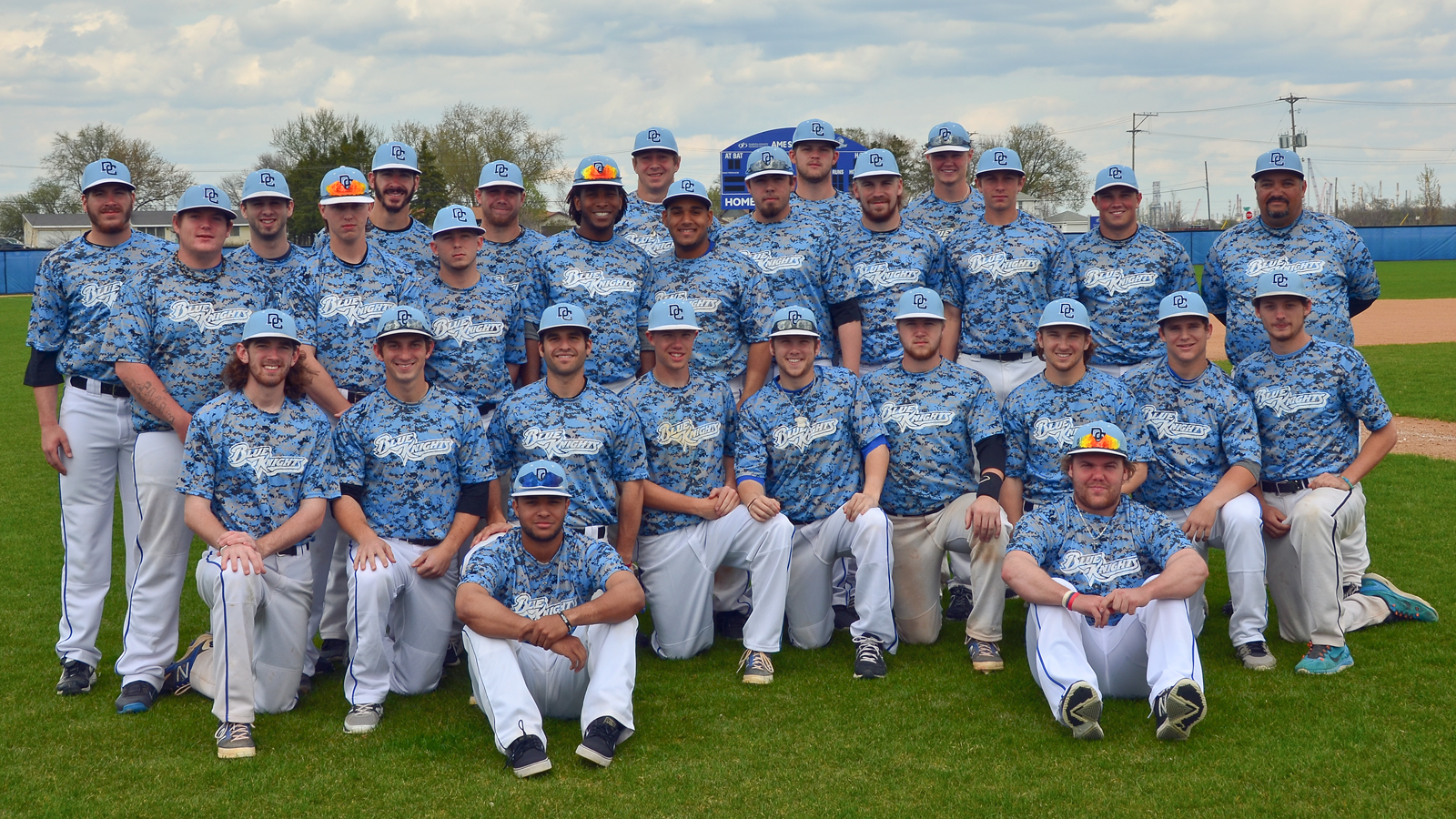 DCTC Blue Knights Baseball 2014