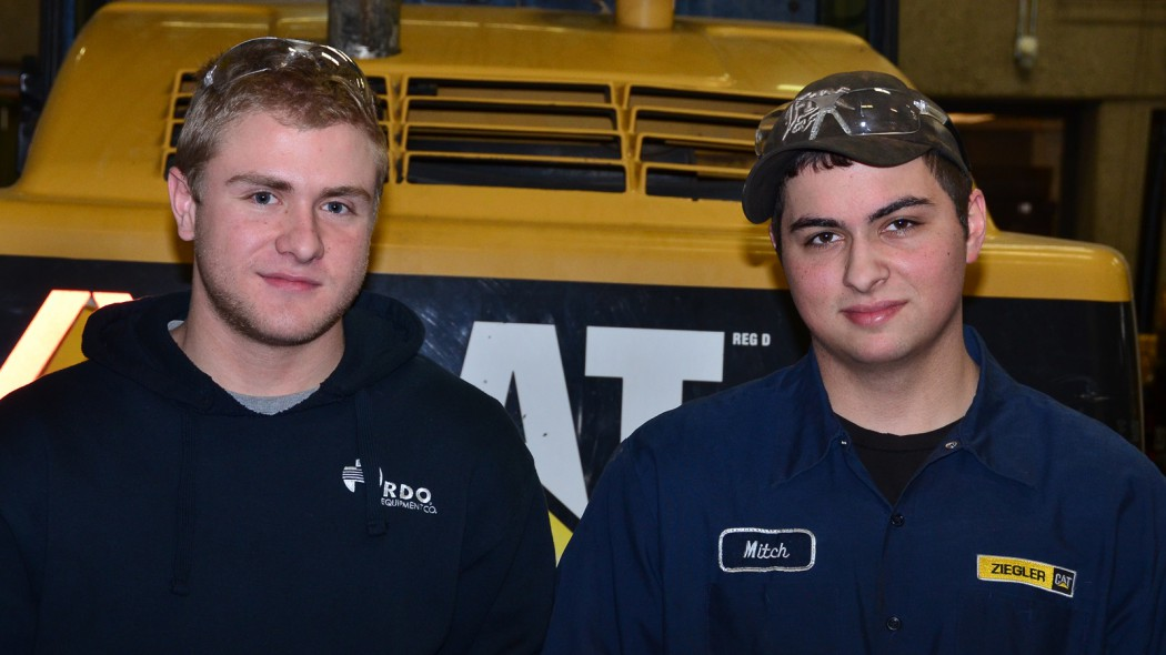 Daniel Guertin and Mitch Cooper