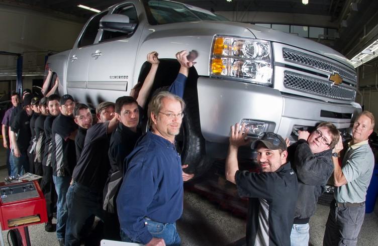 GM ASEP donated 2013 Chevrolet Silverado