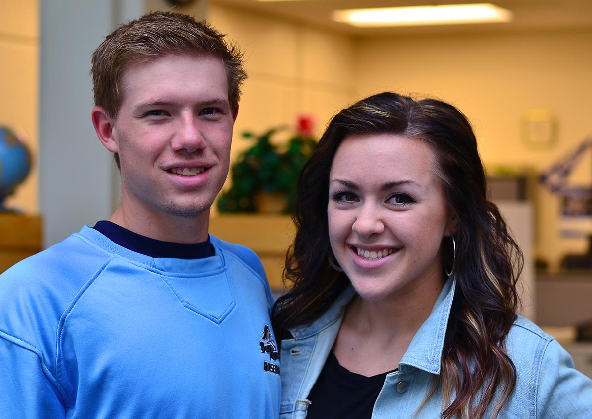 Brett Lindsey and Carissa Allen