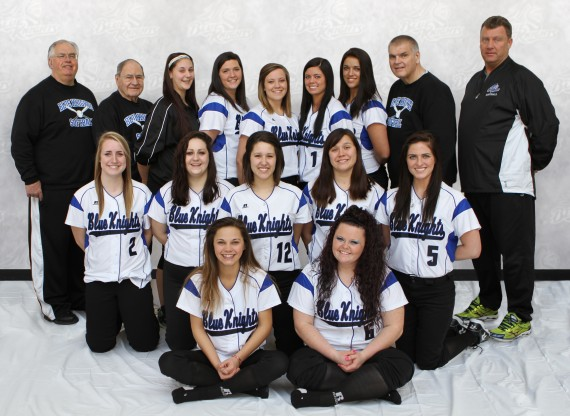 DCTC Blue Knights Fastpitch Softball Team 2013-2014