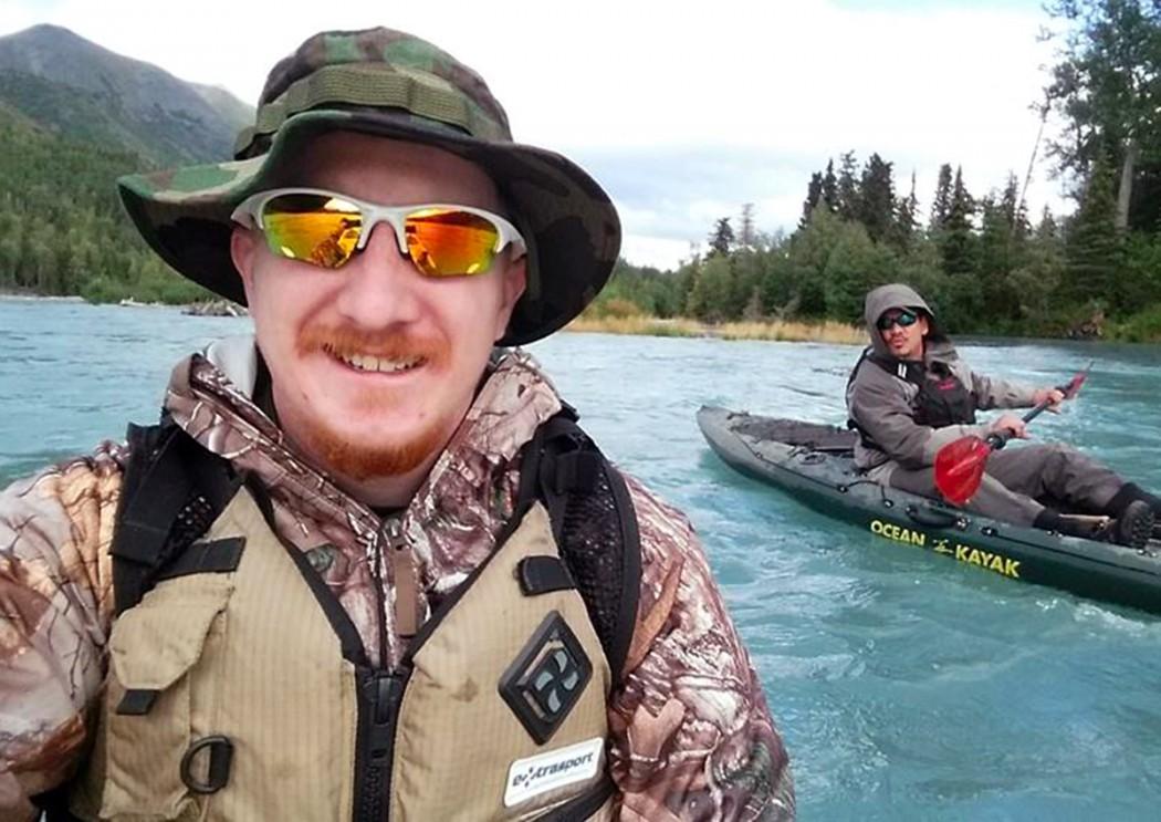 Matt Miller CET grad in Alaska