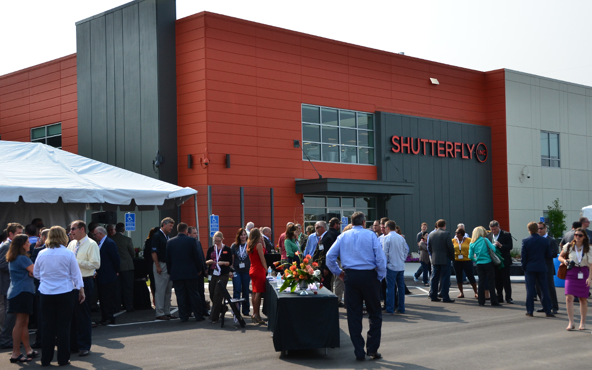 Shutterfly Ribbon Cutting