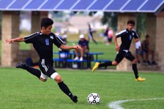 Blue Knights soccer