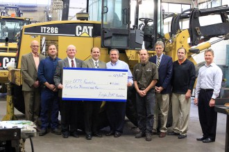 Ziegler CAT and Caterpillar Foundation Supports DCTC