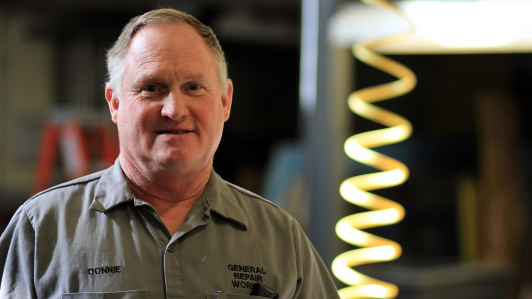 Donnie Myers Welds Happiness at DCTC