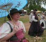 Annette at Chippewa Falls Renaissance Festival