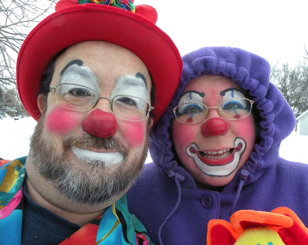 Silly and Bobo Dee Clown
