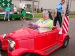 Bobo at parade in Faribault