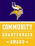 Vikings Jr. Community Quarterback Award
