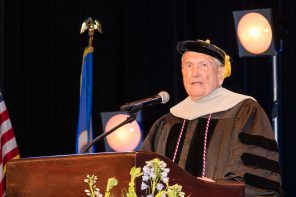WWII Vet Receives Honorary Doctorate