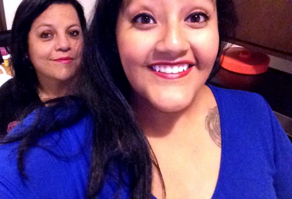 Gladys and mom