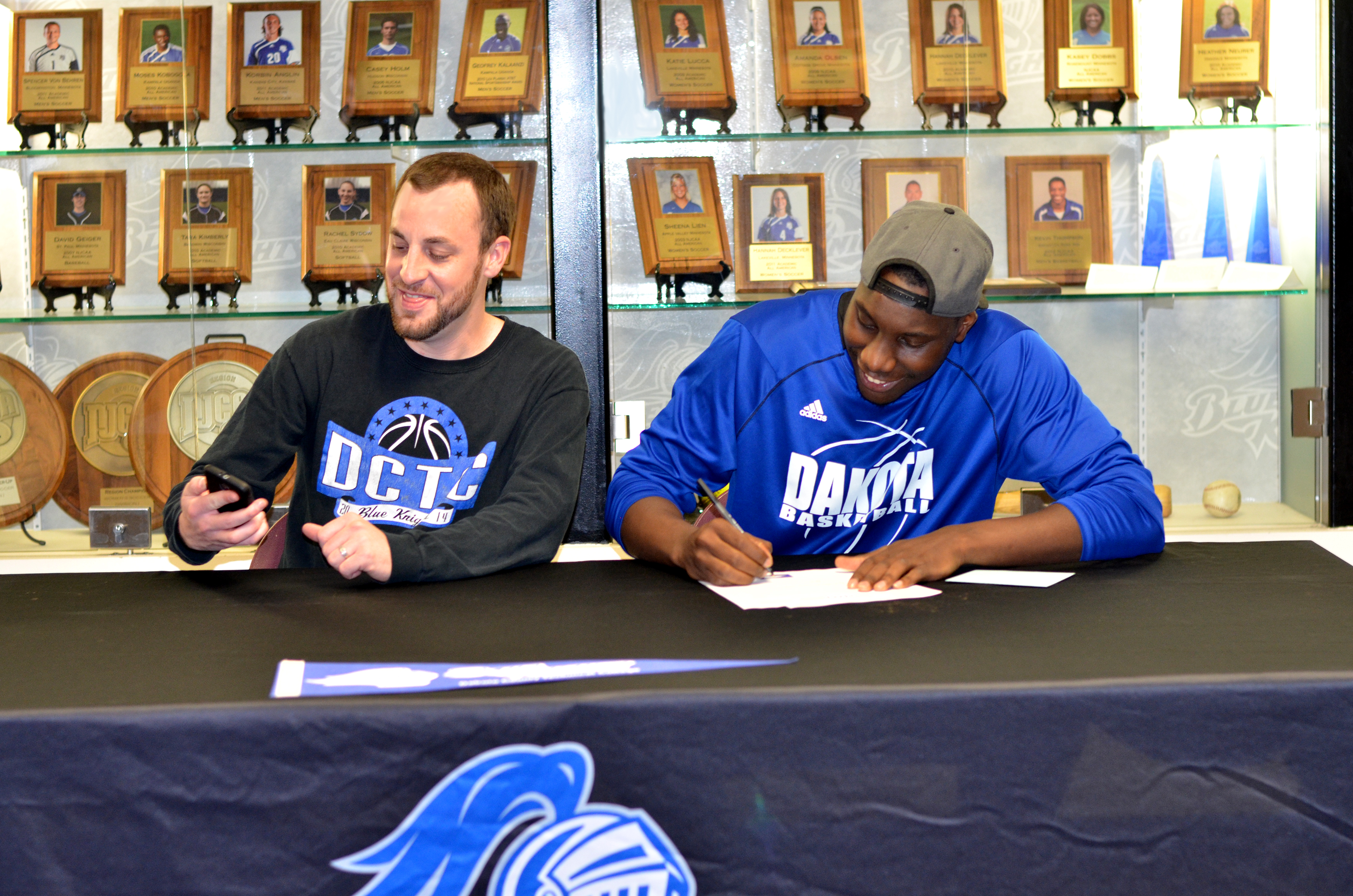 DCTC forward signs letter of intent to play at four-year university