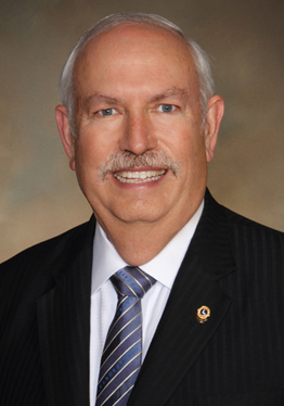 Lions International President Bob Corlew will visit campus Oct. 7.