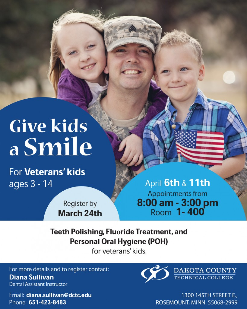 Give Kids a Smile for Veterans